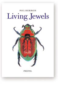 Cover of Living Jewels by Poul Beckmann