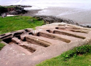The rock graves at Heysham (c. 11th century A.D.)