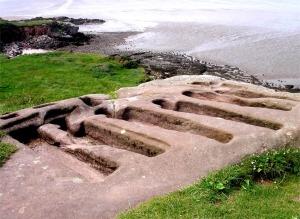 The rock graves at Heysham (c. 11th century A.D.)