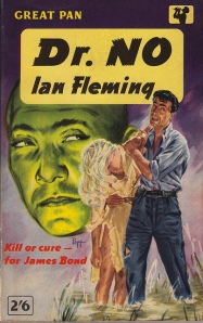 Front cover of Dr No (Pan paperback)