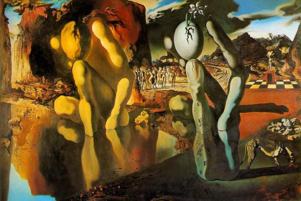 The Metamorphosis of Narcissus by Salvador Dalí