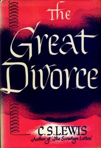 Front cover of The Great Divorce by C.S. Lewis