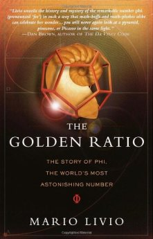 Front cover of The Golden Ratio by Mario Livio