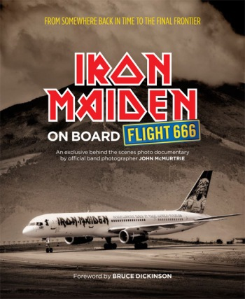 Front cover of Iron Maiden: On Board Flight 666