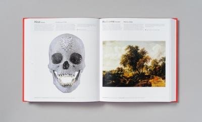 Hirst Skull and landscape
