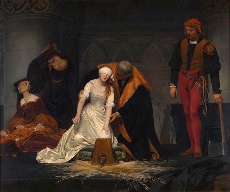 Le Supplice de Jane Grey, Paul Delaroche (1833)