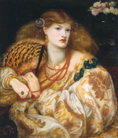 Monna Vanna 1866 Dante Gabriel Rossetti 1828-1882 Purchased with assistance from Sir Arthur Du Cros Bt and Sir Otto Beit KCMG through the Art Fund 1916 http://www.tate.org.uk/art/work/N03054