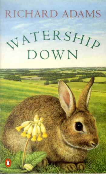 Cover of a recent edition of Watership Down