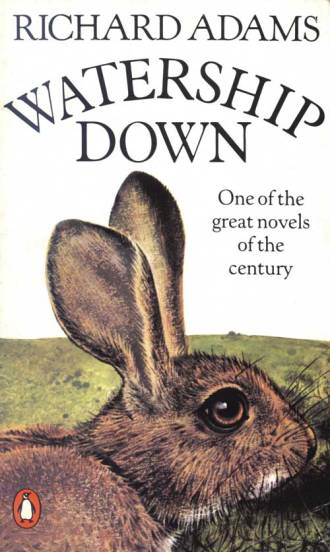 Watership Down by Richard Adams with cover by Pauline Baynes