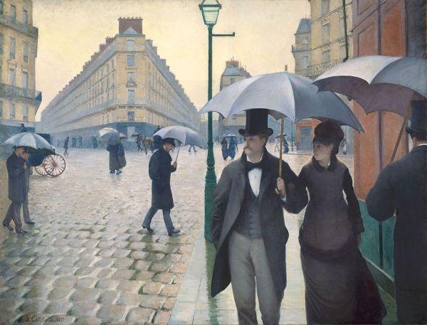 Gustave Caillebotte, Jour de pluie à Paris (1877)