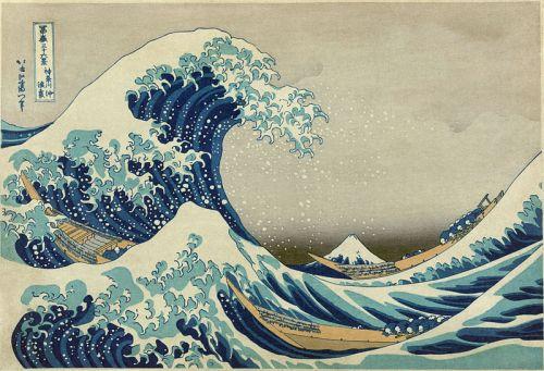 The Great Wave off Kanagawa by Katsushika Hokusai (1760–1849)