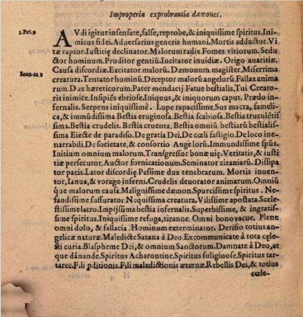 Vituperation from the Flagellum Daemonum (1644)