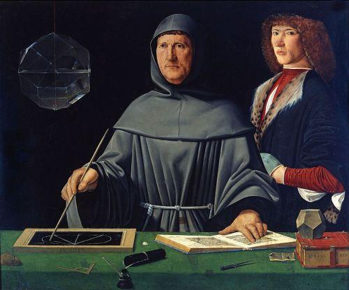 Portrait of Luca Pacioli (1495)